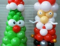 kerstboom-en-kerstman