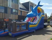 springkussen Haai met playground